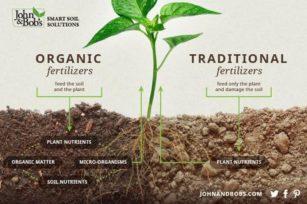 有机肥料和化学合成肥料(化肥)之间的区别?