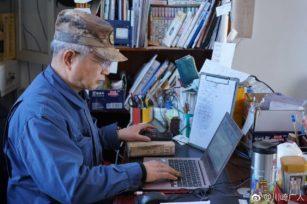 日本专家川崎广人和小刘固农场的循环农业