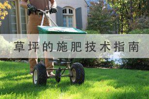 草或草坪的施肥技术指南